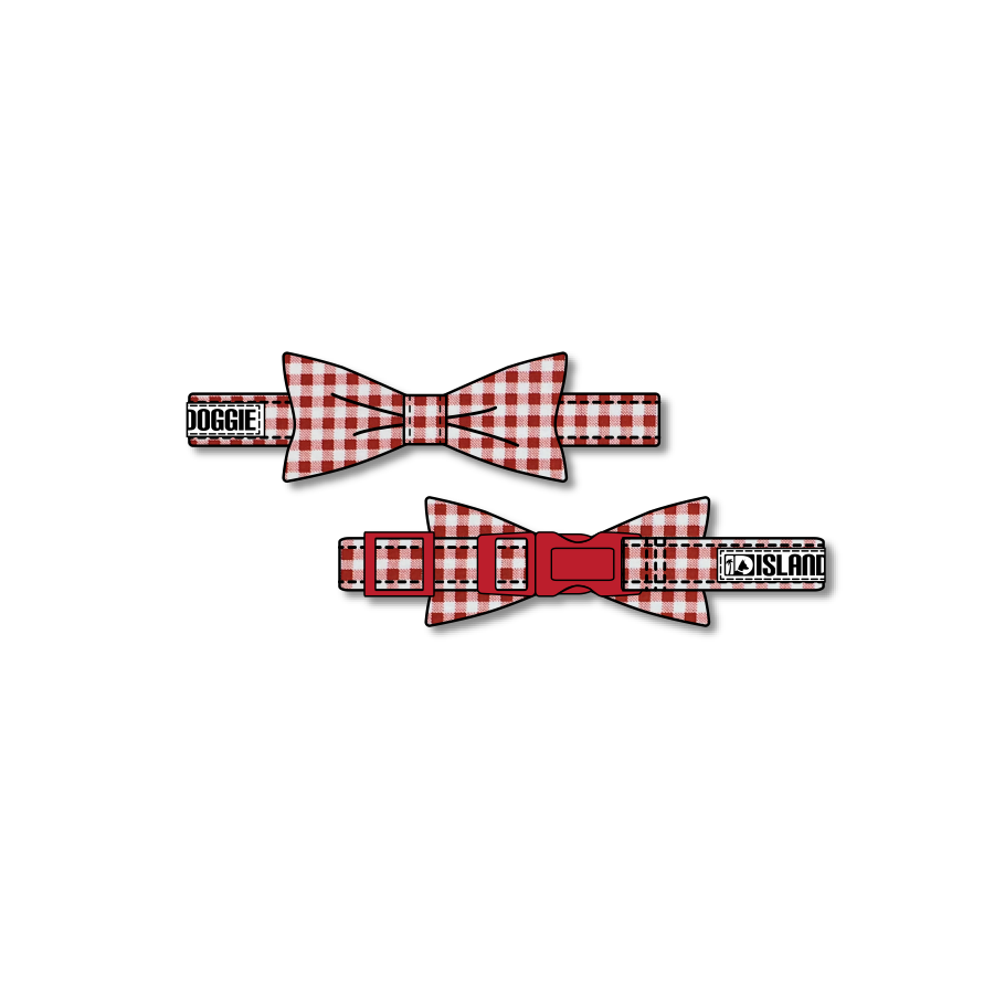 Picnic Time Dog Bow Tie