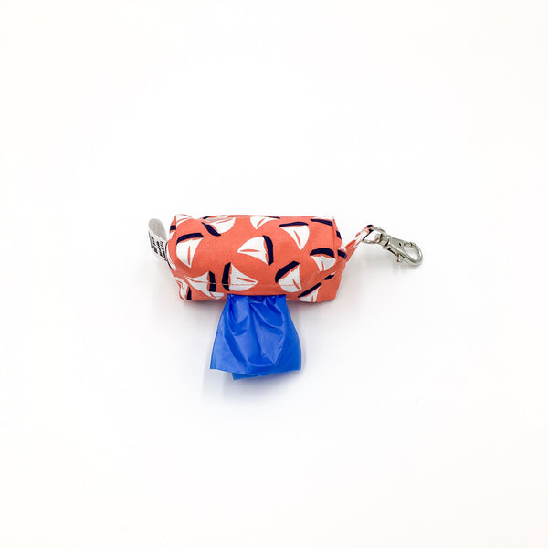 Sailboats Poopie Bag