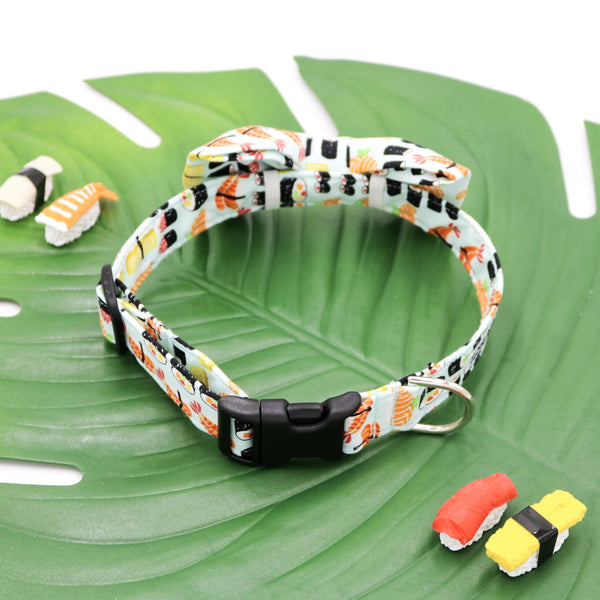 Sushi Time Bow Tie-Back