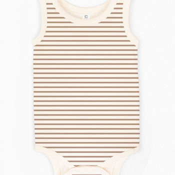 Boulder Tank Bodysuit - Sunset Stripe
