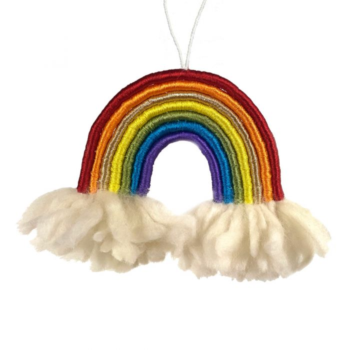 Hanging Rainbow Wrap