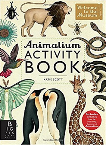 Animalium Activity Book by Big Picture Press