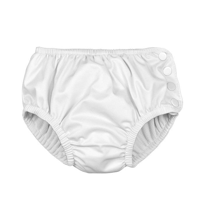 Reusable Swim Diaper - White