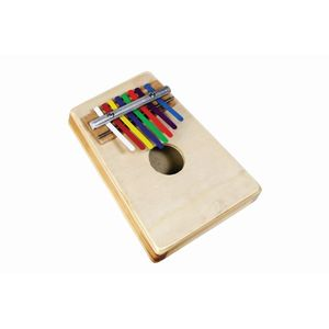 Rainbow Colours Kalimba with Book