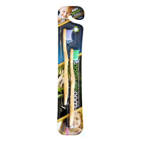 Sprout Bamboo Toothbrush (2pk)