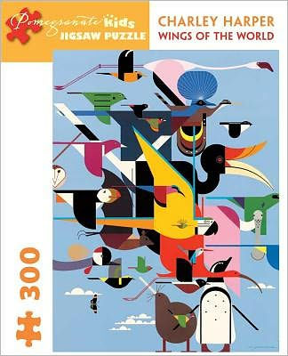 Charley Harper: Wings of World 300-Piece Puzzle