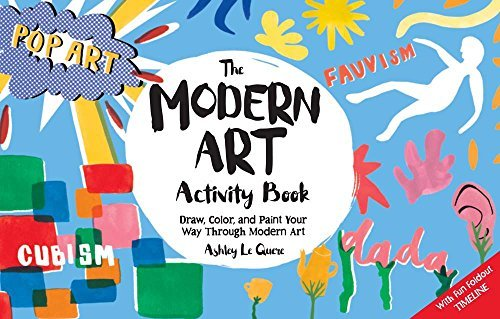 Modern Art Activity Book by Ashley Le Quere