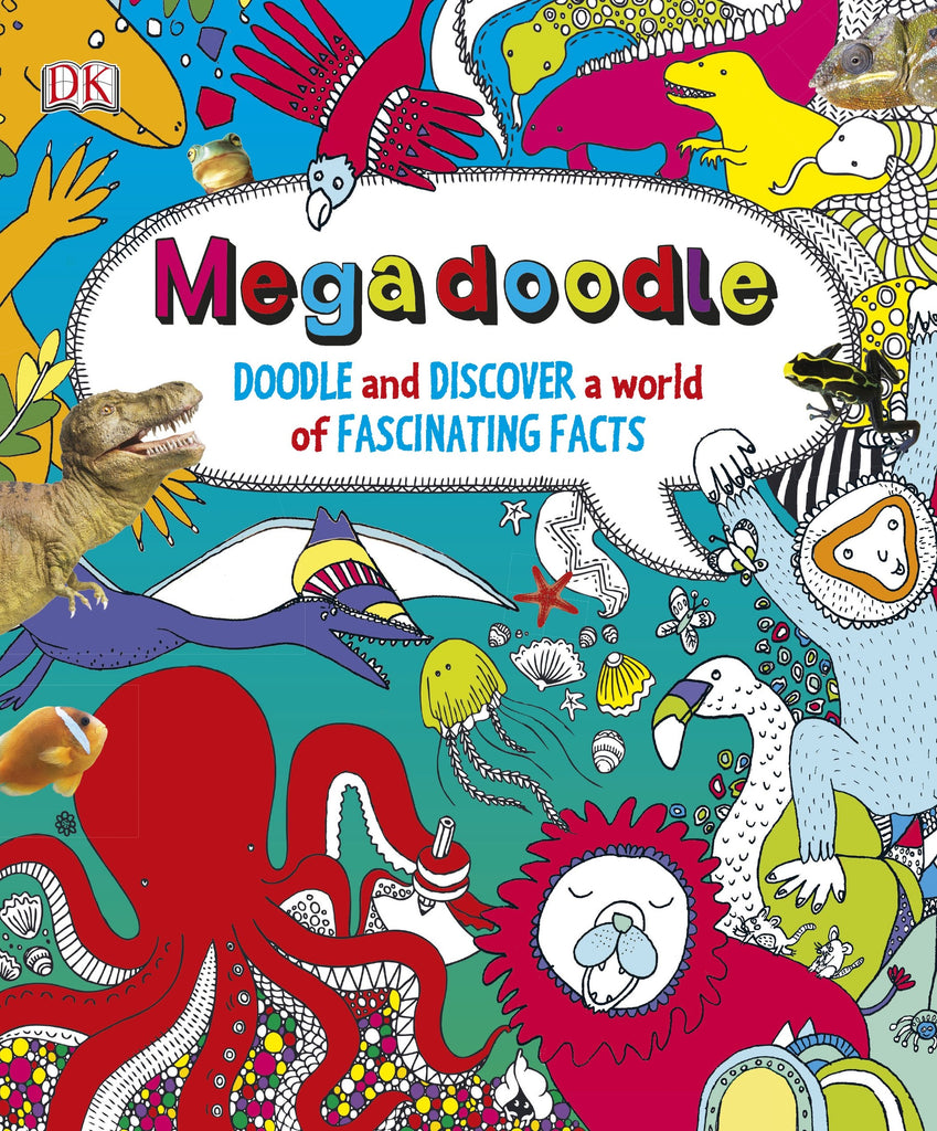 Megadoodle: Doodle and Discover a World of Fascinating Facts