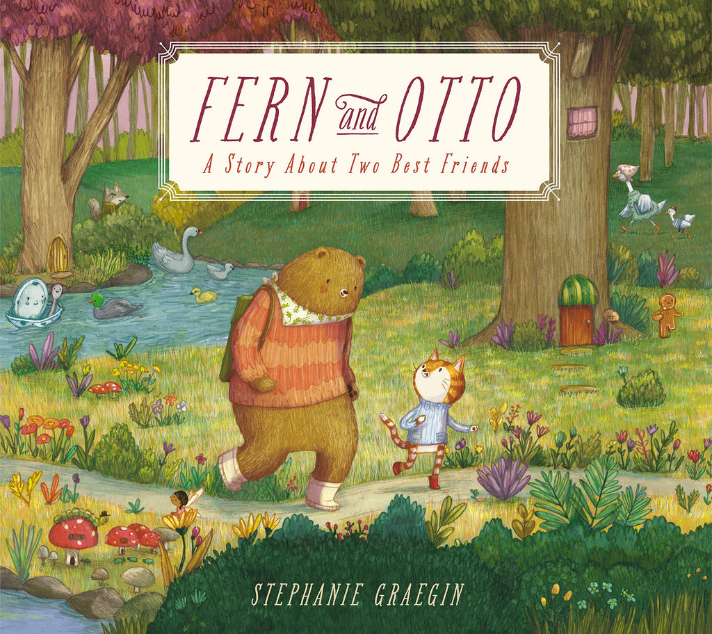 Fern and Otto: A Story About Two Best Friends by Stephanie Graegin