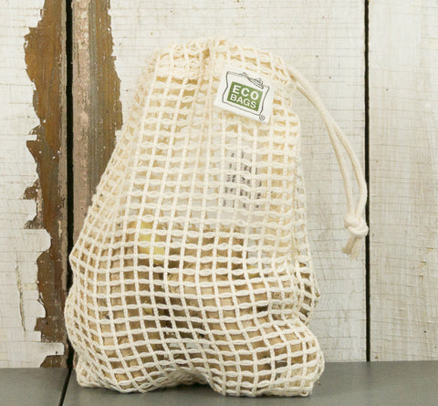 Cotton Mesh/Net Ditty Bag - 5x7
