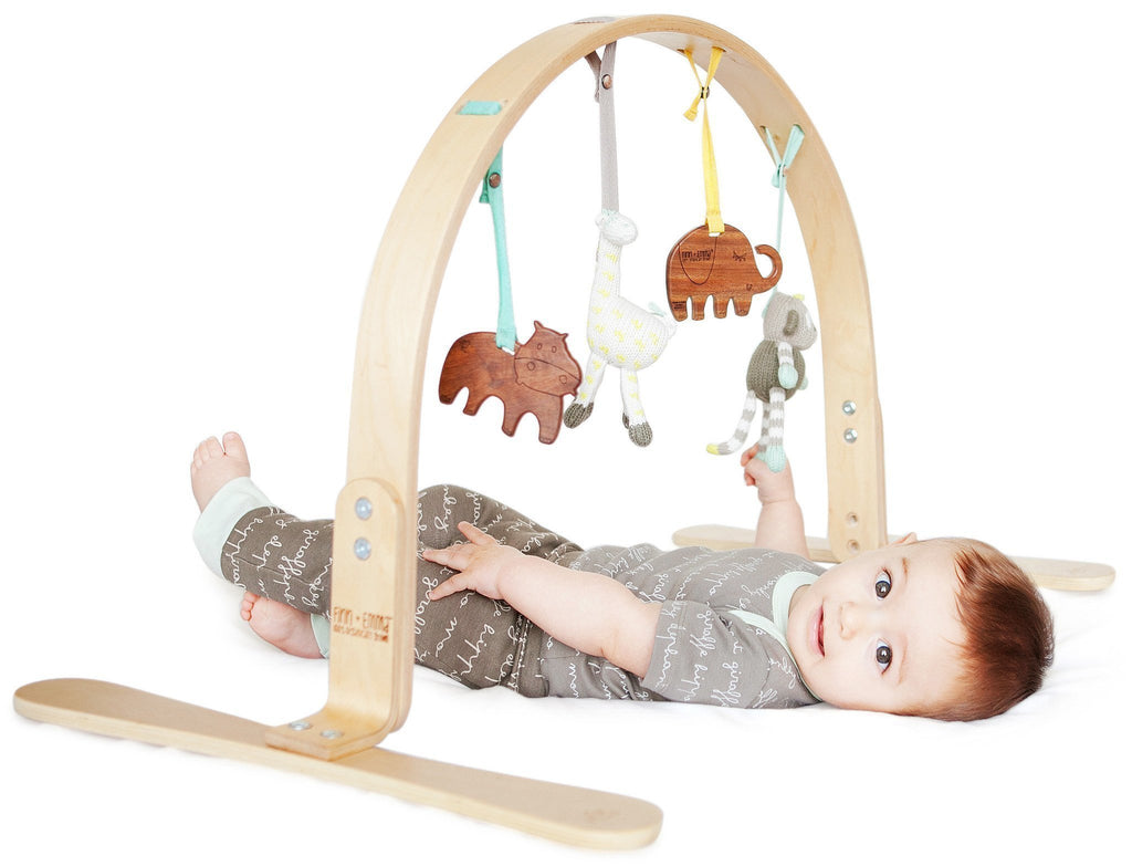 Play Gym with Toys - Jungle/Birch