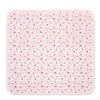 Organic Cotton Baby Blanket - Pink Moon and Stars