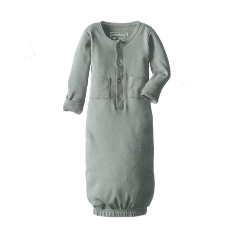 Organic Cotton Gown (multiple colors)