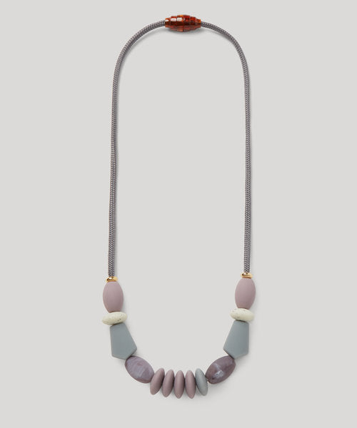 Signature Teething Necklace - Pewter