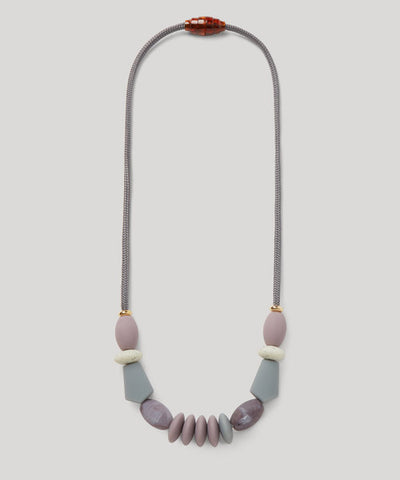 Teething Necklace - Pewter