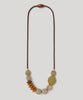 Signature Teething Necklace - Saddle