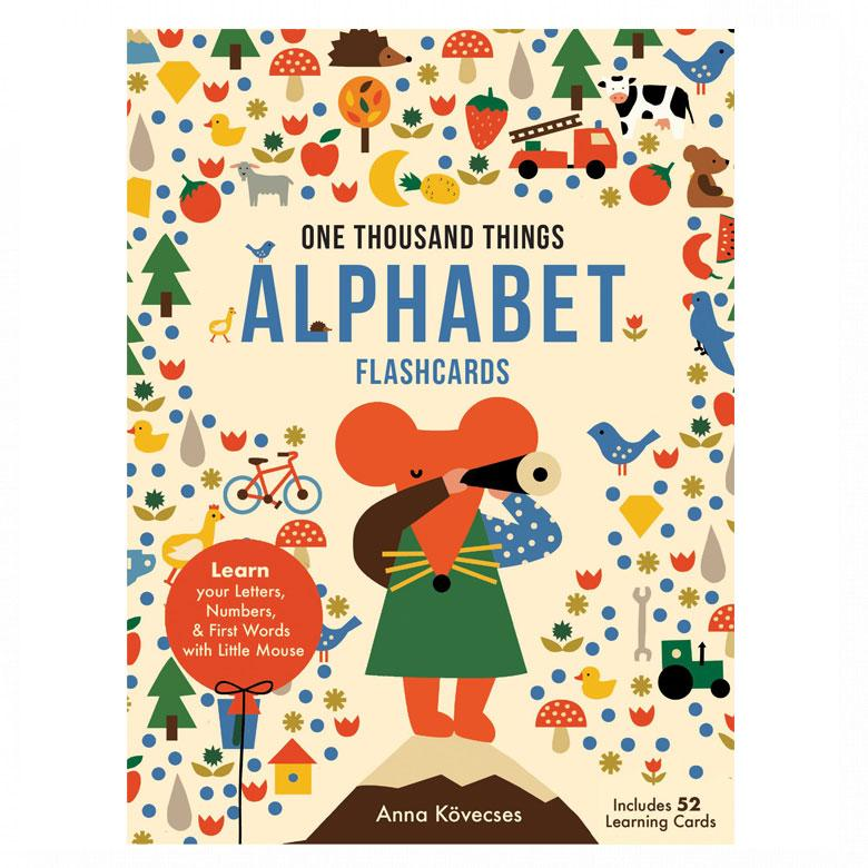 Little Mouse's Alphabet Flash Cards by Anna Kovecses