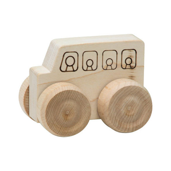 Mini Wood School Bus