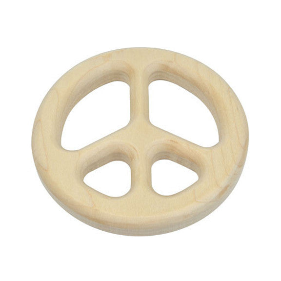 Peace Maple Teether