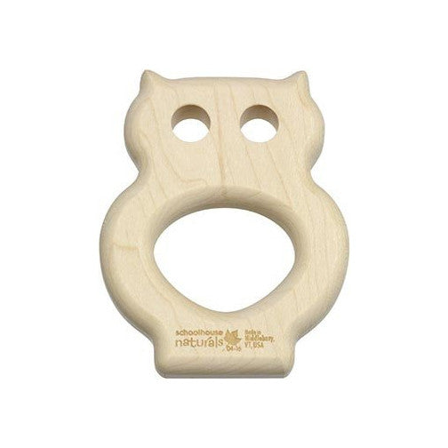 Owl Maple Teether