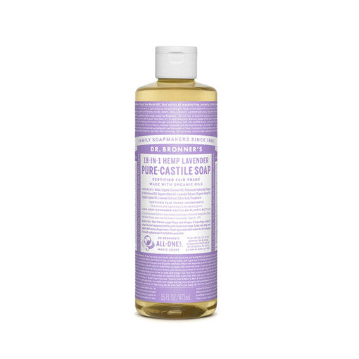 Lavender Pure-Castile Liquid Soap  (16 oz.)