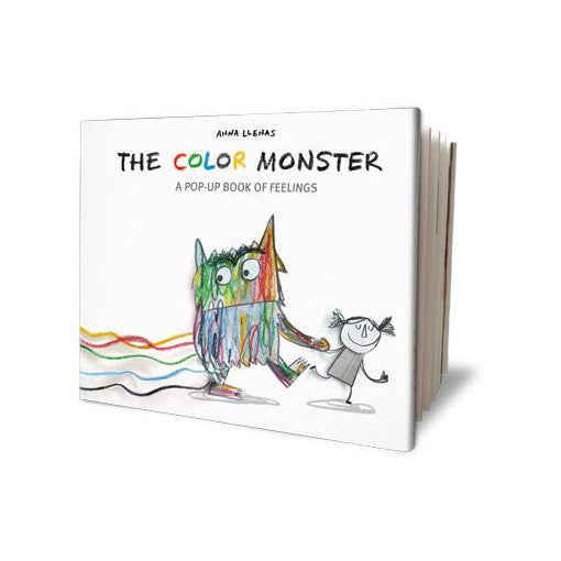 The Color Monster: A Pop-Up Book of Feelings by Anna Llenas