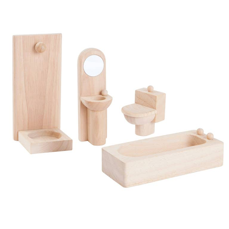 Dollhouse Bathroom Set - Classic
