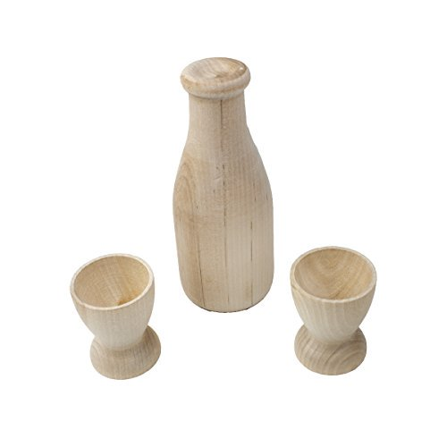 Milk and Cups Wooden Play Set