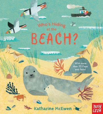 Who's Hiding at the Beach? by Nosy Crow