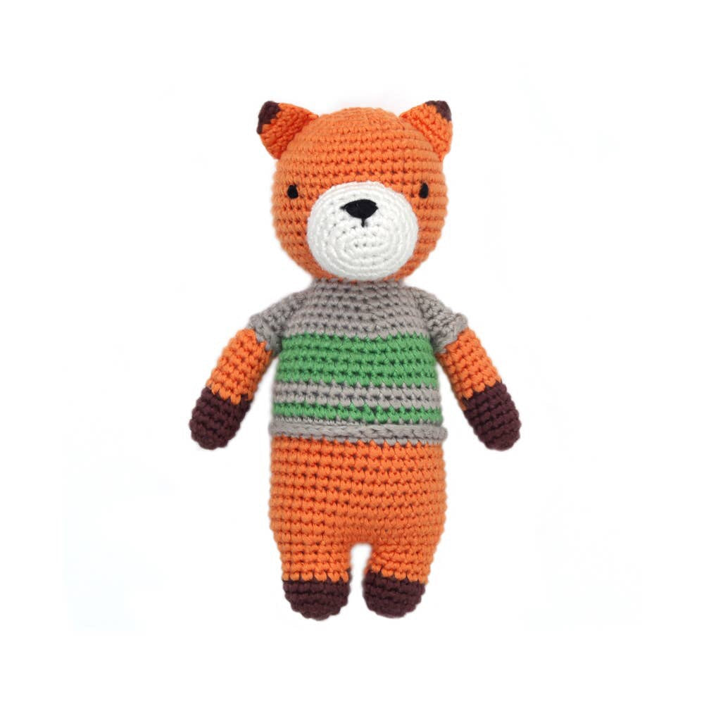 Crocheted Mini Doll - Felix the Fox