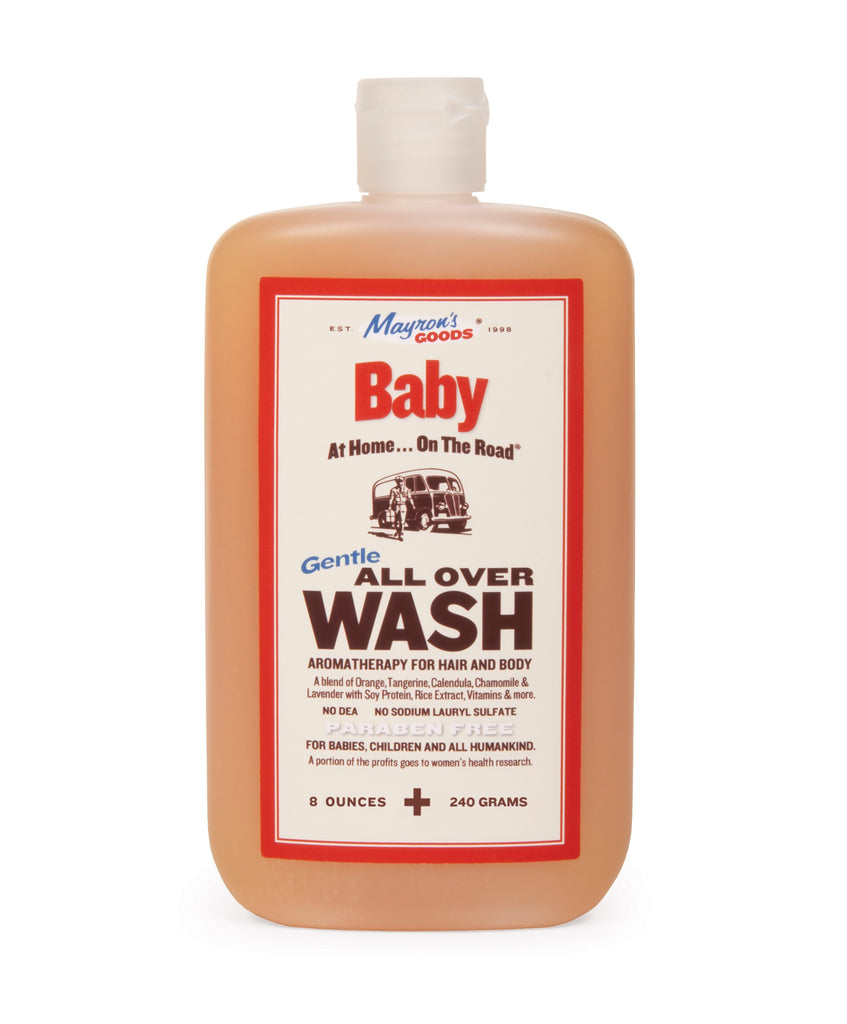 Gentle All Over Baby Body Wash (8oz)