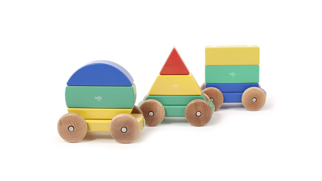 Magnetic Shape Train: Rainbow