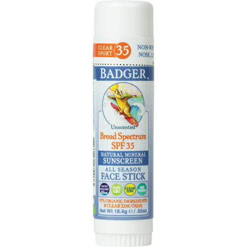 All Season Face Stick Sunscreen SPF 35 .65 Oz