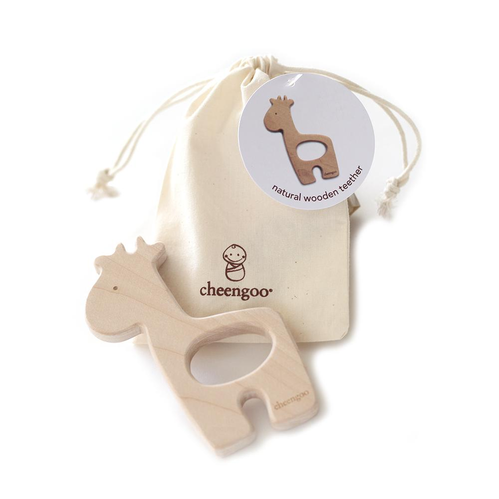 Giraffe Wooden Teether