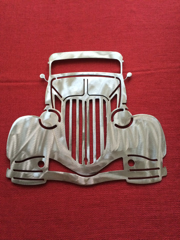 Dodge Chevy Ford Metal Wall