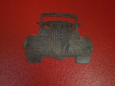 36 Ford Front End metal plasma cut art