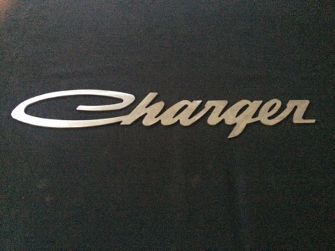 Dodge Charger Logo sign Metal Garage sign Dodge art Mopar art