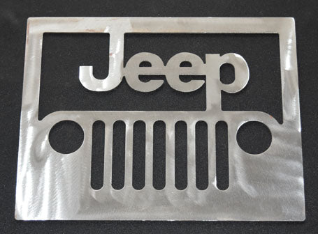 Jeep Metal Logo Metal Sign
