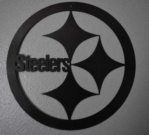 Steelers Metal Art / Pittsburgh Steelers Football Art