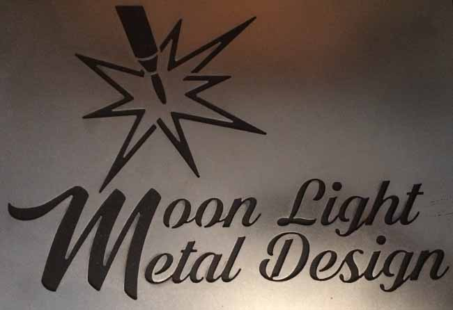 Moon Light  Metal  Design