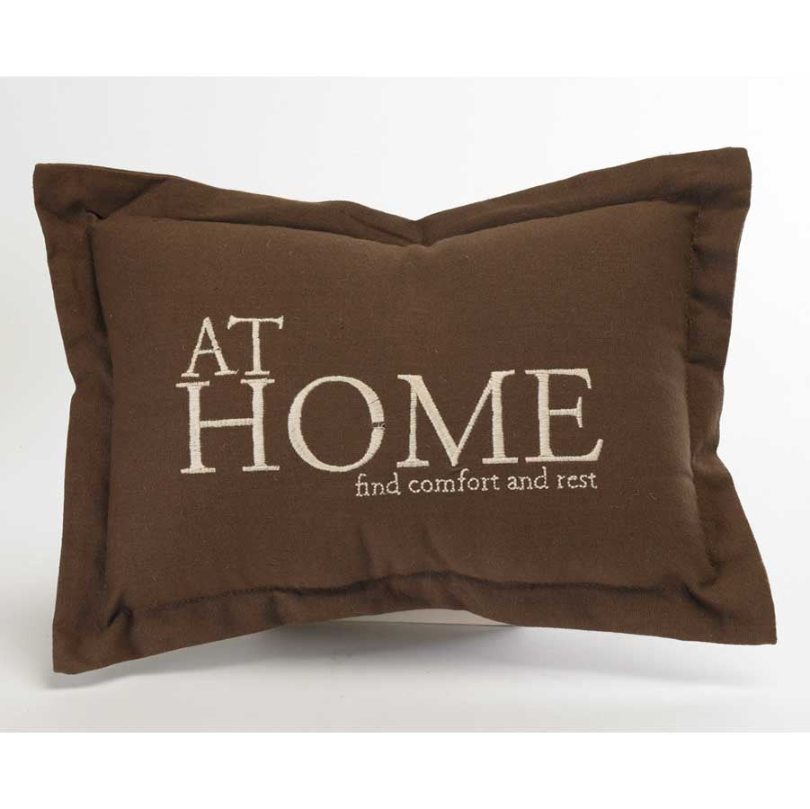 Home Decor - At Home Pillow - FancySchmancyDecor