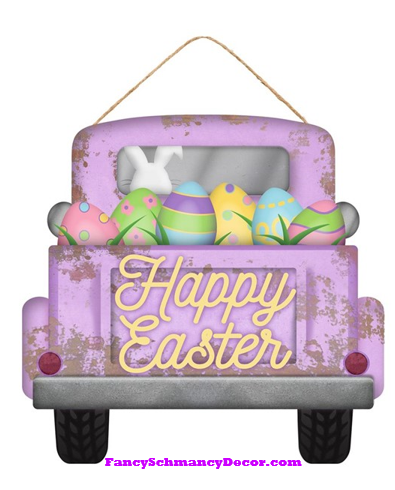 Happy Easter Truck Sign