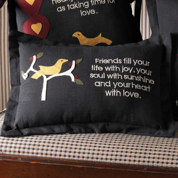 Friends Pillow - FancySchmancyDecor