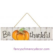 Be Thankful Fall Hanger