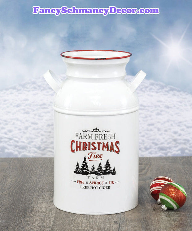 Christmas Joy Milk Jug