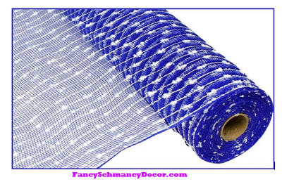 "21"" X 10 yd Cotton Ball/Poly Mesh"