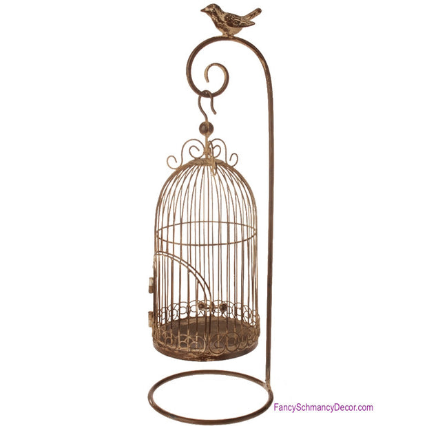 Birdcage with Stand - RAZ Imports