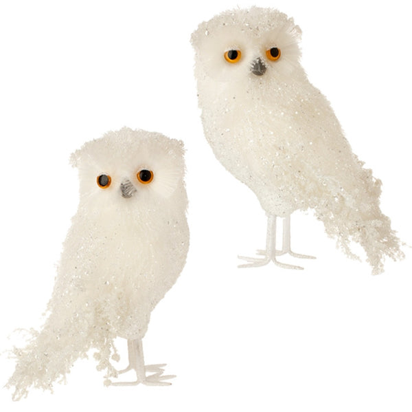 "Iced Owl 11.5"" - FancySchmancyDecor"