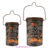 Farmers Market Black Buckets by Raz Imports