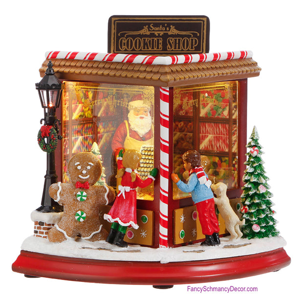 Cookie Shop Music Box by Raz Imports